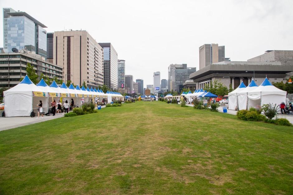2019 장애인문화예술축제 A+ Festival의 부스사진