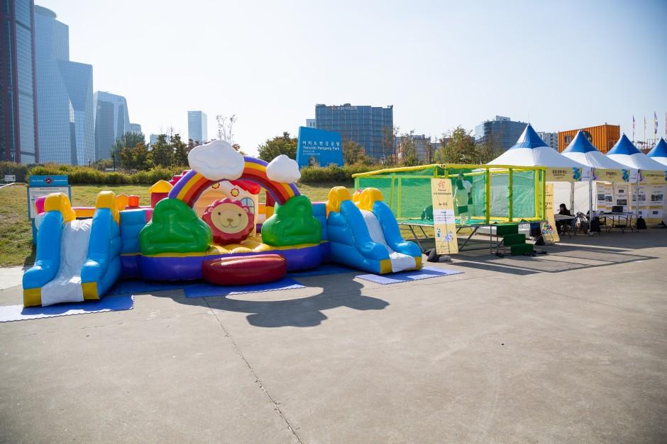 2019 장애인문화예술축제 A+ Festival 의 어린이놀이기구 사진