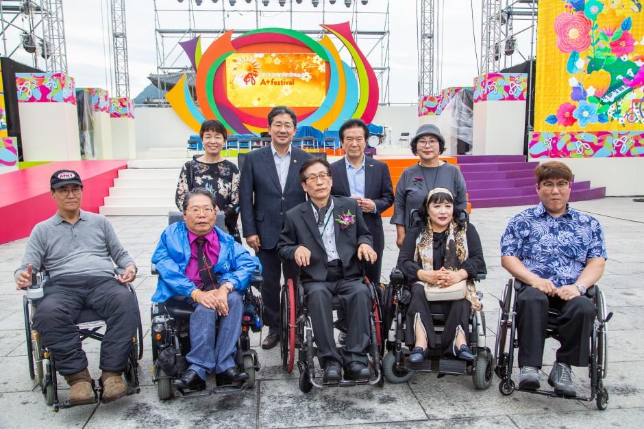 2019 장애인문화예술축제 A+ Festival에서 찍은 사진